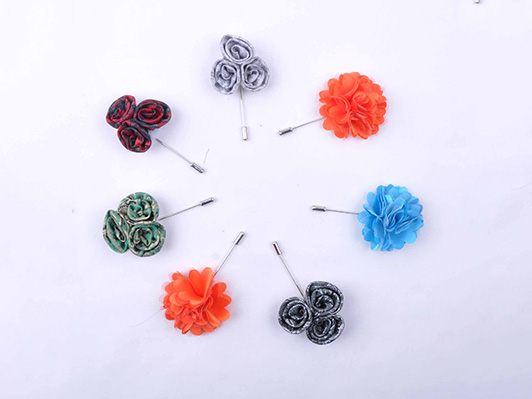 Custom Flower Brooches