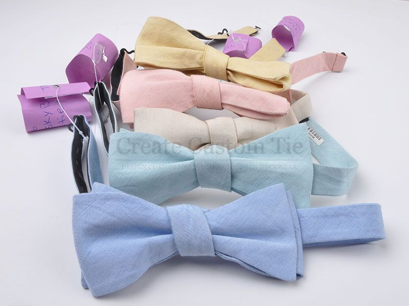 Custom Linen Bowties