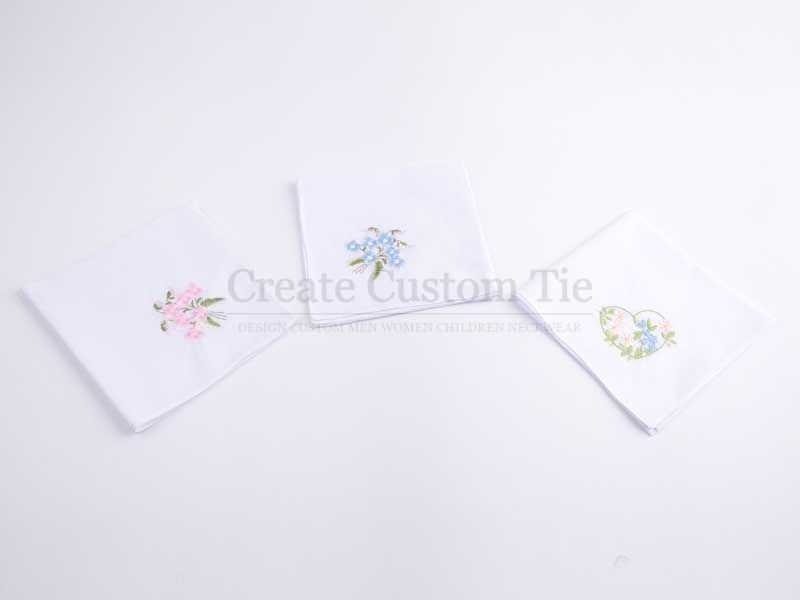 Custom Linen Print Pocket Squares